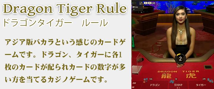 ドラゴンタイガー ルール